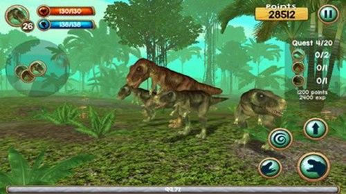 恐龙称霸世界游戏破解版最新版