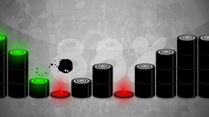 永不言弃小黑球节奏跳跃金币无限ios破解版