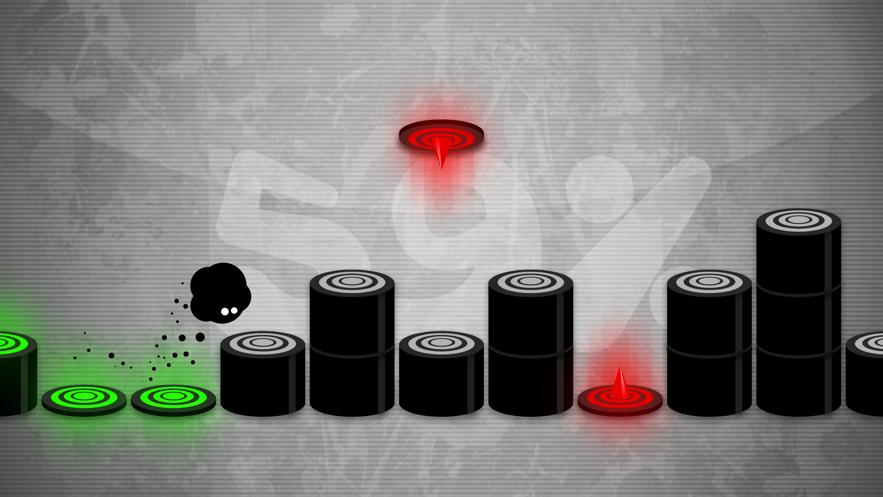 永不言弃小黑球节奏跳跃金币无限ios破解版最新版